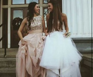 goals, best friends, and dress image