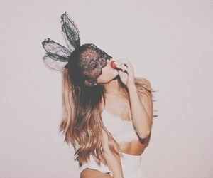 rabbit, sexy, and ariana grande image