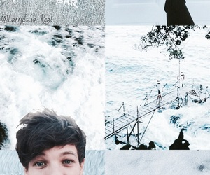 blue, light blue, and louis image
