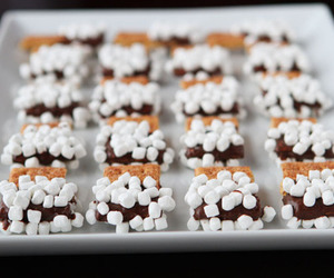 s'mores, food, and yummy image