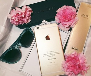 accessories, apple, and gold image