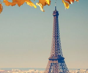 autumn, eiffel tower, and life image