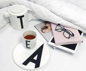 tea and glasses image