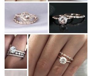 engagement, vintage, and wedding image