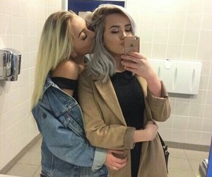 lesbian, goals, and couple image