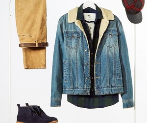 clothes, jacket, and man image