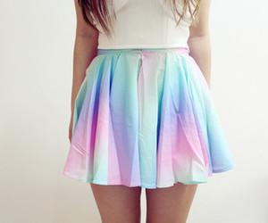 fashion, girl, and skirts image