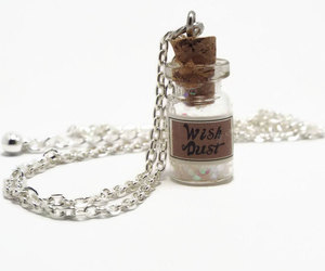 etsy, fairy necklace, and bottle necklace image