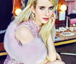 emma roberts, chanel, and scream queens image