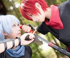 cosplay, karma, and assassination classroom image