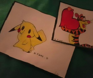 dessin, pikachu, and cute image
