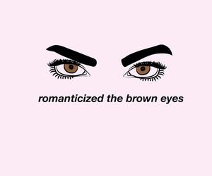 eyes, brown eyes, and brown image