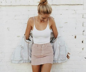 fashion, pink, and girly image