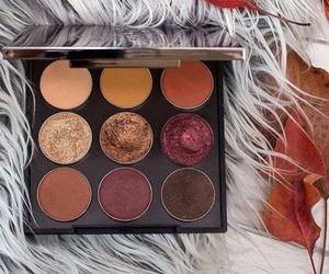 beauty, cosmetics, and eye shadow image