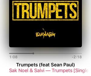 2016, sak noel, and trumpets image