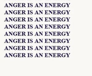 anger, energy, and words image
