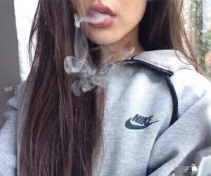 smoke, nike, and tumblr image