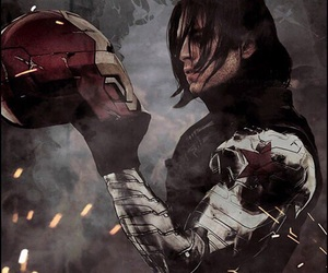 Marvel, bucky, and winter soldier image