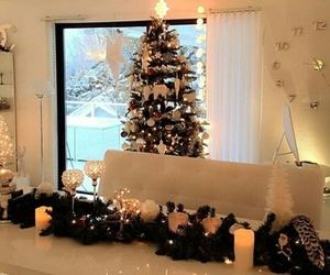 arbol, christmas, and luces image
