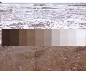 beach, color, and color palette image