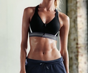 angel, Victoria's Secret, and workout image