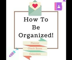 beauty, organized, and planner image