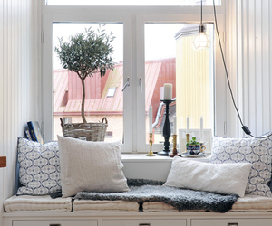 pillow, white, and home image