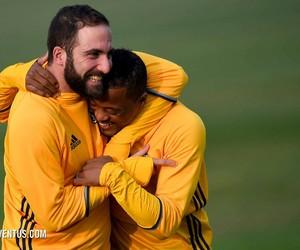 Juventus, gonzalo higuain, and patrice evra image