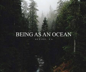 being as an ocean and nature image