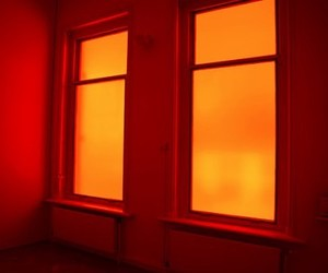 orange, aesthetic, and window image