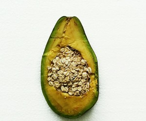 abacate, avocado, and lanche image