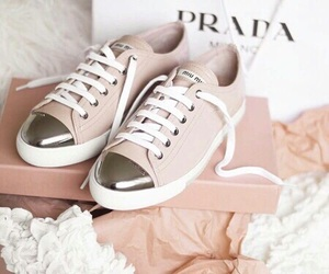 shoes, Prada, and pink image