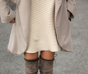 fashion, boots, and outfit image