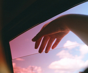 sky, hand, and photography image