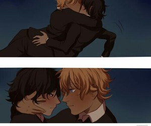 yaoi, nico di angelo, and will solace image