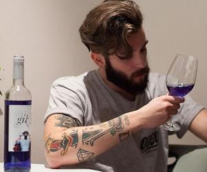 boy, man, and tattoo image