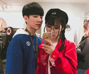 couple, asian, and boys image