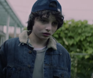 stranger things, finn wolfhard, and pup the band image