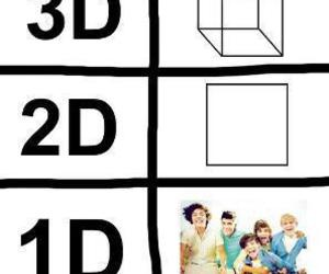 one direction, 1d, and 3d image
