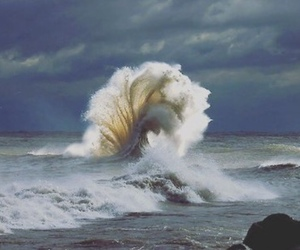theme, waves, and ocean image