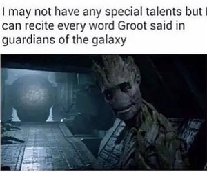 groot, funny, and Marvel image