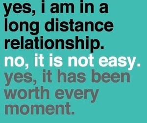 love and long distance image