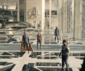 Avengers, Marvel, and falcon image