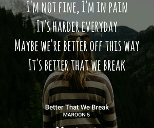 heartbreak and better that we break image