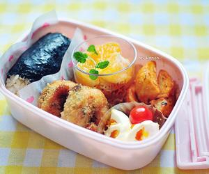 bento, food, and japanese image