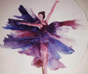 art, blue, and dance image