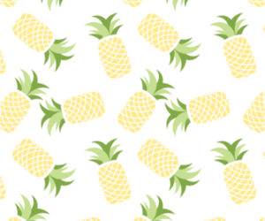 patterns, pineapples, and fruis image