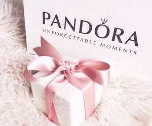 pandora, pink, and gift image