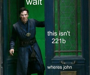 Marvel, sherlock, and benedict cumberbatch image