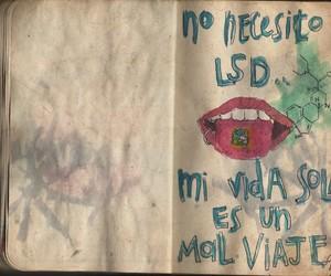 desamor, spanish, and decepcion image